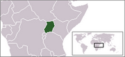 Republic of Uganda - Location