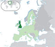 United Kingdom of Great Britain and Northern Ireland - Location