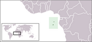 Democratic Republic of São Tomé and Príncipe - Location
