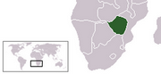 Republic of Zimbabwe - Location